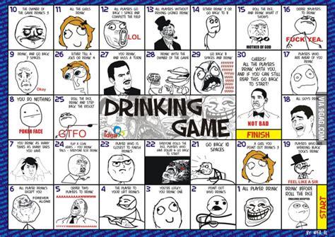 Drinking Game Memes - meme s drinking game english version 9gag