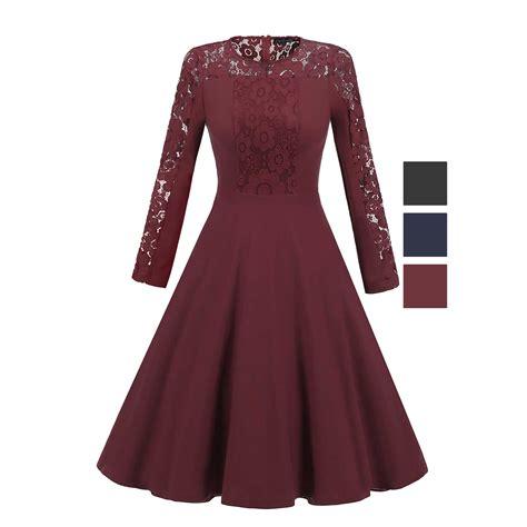 Dress Elegance elegance vintage lace sleeve formal evening