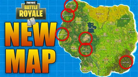fortnite battle royale map new map update in fortnite battle royale