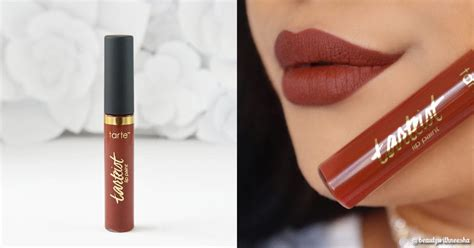 Tarte Tarteist Matte Lip Paint Se4t review and swatch tarte cosmetics tarteist matte lip paint