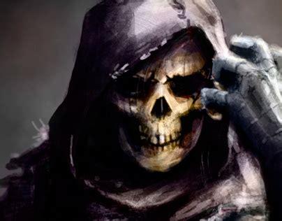 concept skeletor  man  behance