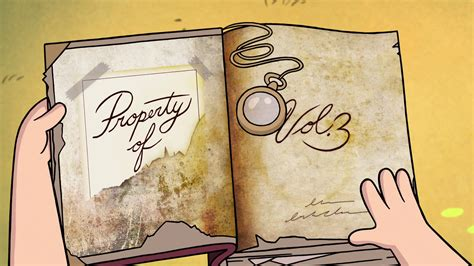 libro prohibited book 3 image s1e1 3 book property of png gravity falls wiki fandom powered by wikia