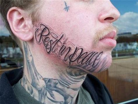 rest in peace tattoo bad tattoos 15 absurd fails team jimmy joe