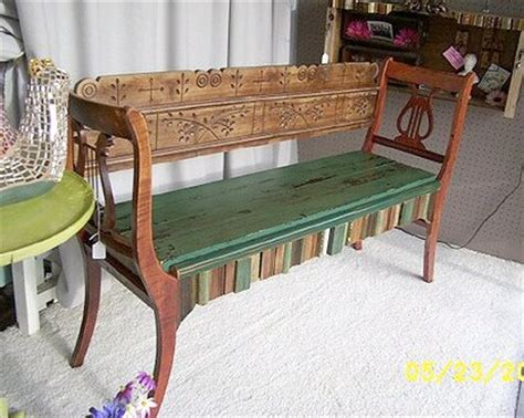 bench made from old chairs dishfunctional designs upcycled new uses for old chairs