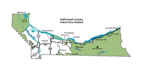 multnomah county map oregon map of multnomah county oregon