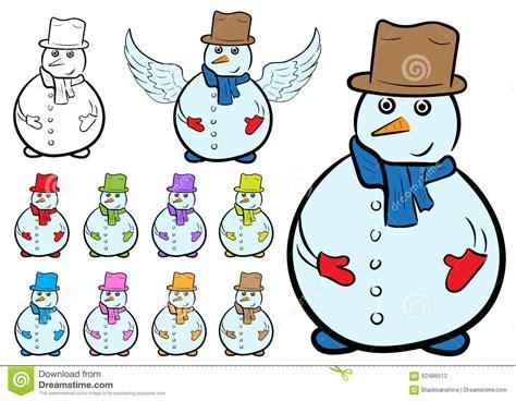 clipart neve clipart bonecos de neve ilustra 231 227 o do vetor imagem