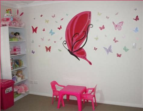 lovely Small Living Room Decor #1: decorating-kids-room-with-butterflies-17-500x390.jpg