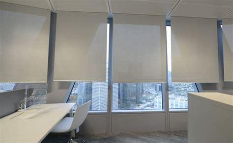 acoustic blinds sound absorbing blinds  offices