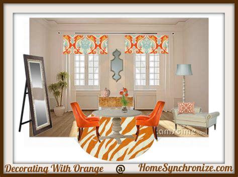 orange home decorations color psychology decorating with orange