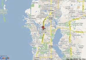 map of springs in florida tarpon springs fl cake ideas and designs