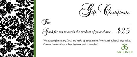 18 Gift Certificate Templates Excel Pdf Formats Template For A Gift Certificate