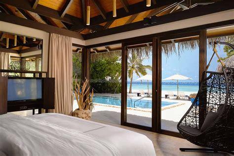 one bedroom pool villa velaa private island maldives deluxe beach pool villa