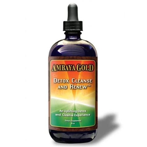 Ambaya Gold Detox And Renew detox cleanse and renew green store