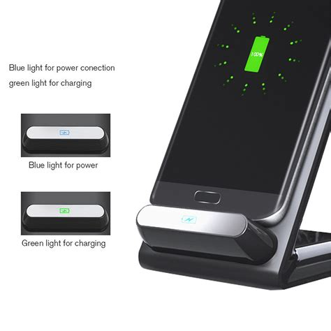 Promo Samsung Wireless Charger Stand Fast Charge Galaxy S7 Edge Bpd 10w qi fast wireless charging stand for samsung galaxy s8 plus