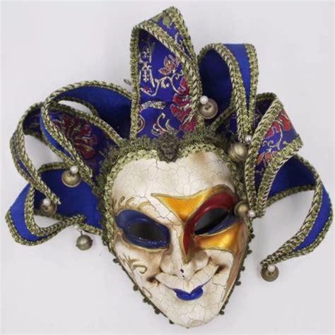 decorative wall masks jester joker full face mask venetian masquerade decorative