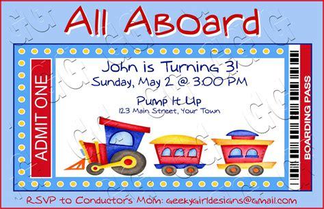40th birthday ideas train birthday invitation templates free