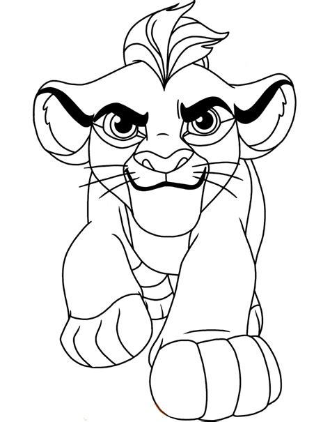 imagenes de leones sin color la guardia del leon para colorear imprimir y pintar