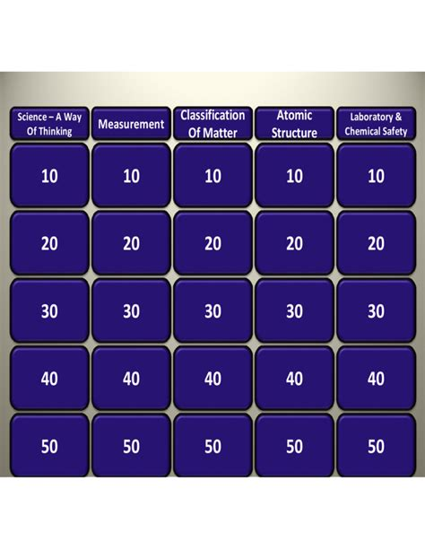 jeopardy powerpoint template 6 categories sle powerpoint of jeopardy free