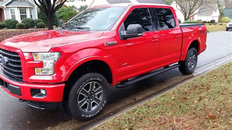 truck ford red let s see those 15 red flame trucks ford f150 forum