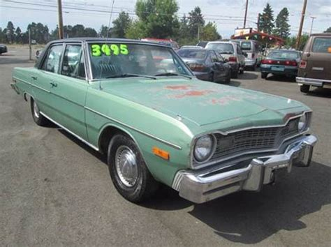 dodge dart for sale 1974 dodge dart for sale carsforsale