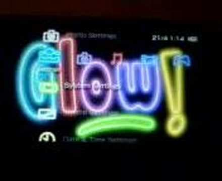 theme psp neon the best neon psp theme youtube