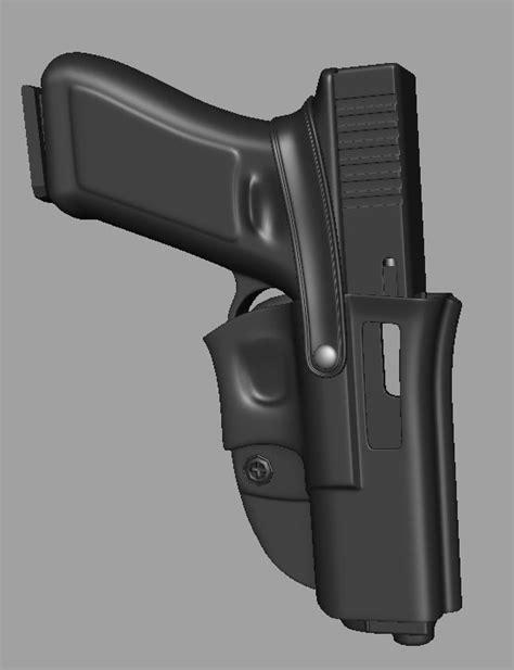 Kaos 3d Gun Holster M glock handgun holster 3d max