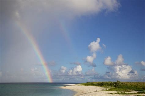 Free picture: rainbow, beach, island, sand, summer time