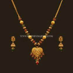 Designs With Price Gold Jewellery South India Jewels Page 11