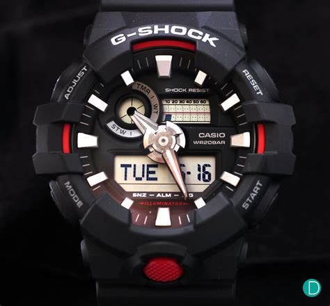 review casio g shock ga 700