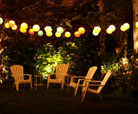 gartenparty beleuchtung gartenparty deko und beleuchtung ideen f 252 r feier am abend