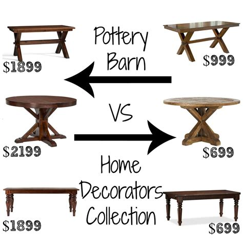 pottery barn dining table pottery barn pinterest decor look alikes dining tables pottery barn up to