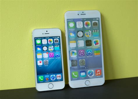 iphone 6 size comparison iphone 6 vs iphone 5s 5 things to about the big iphone