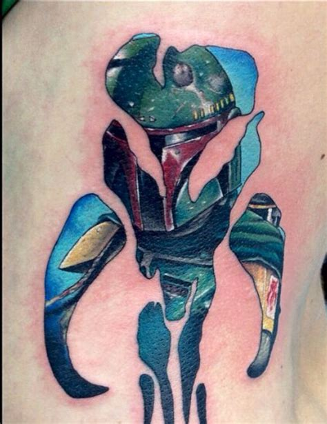 boba fett tattoos best 25 boba fett ideas on boba fett