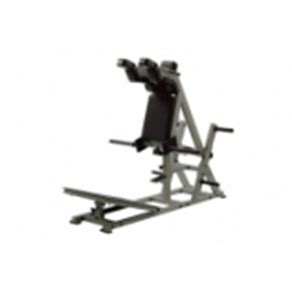 bespoke rubber sts york sts power front squat hack squat machine
