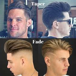 difference between tapered and haircut taper vs fade the difference between fade and taper