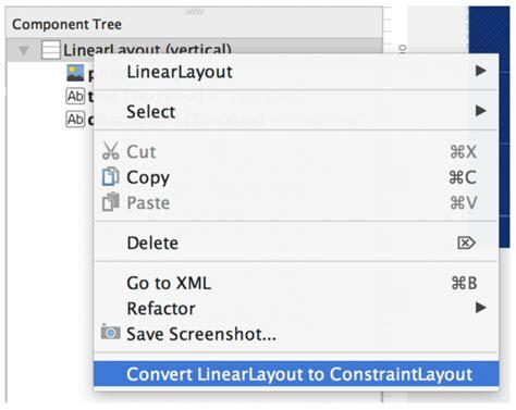 xcode linearlayout constraintlayout la revoluci 243 n de las interfaces en android