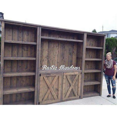 barn board cabinet doors home improvement pinterest rustic wall entertainment center home and garden