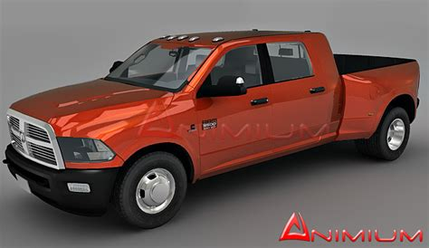 how to ram model dodge ram 3500 free 3d models