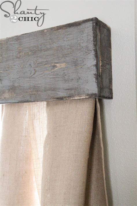 cornice html diy wooden window cornice shanty 2 chic