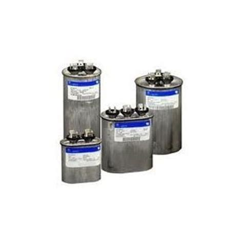 ge capacitor z97f9001 ge genteq capacitor oval 7 5 uf mfd 370 volt 97f9001 replaces ge 27l566 97f4158 z97f4158