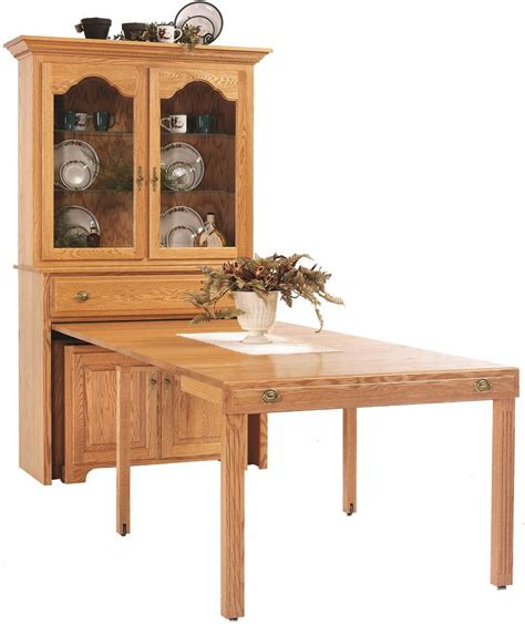 pull out table flintt pullout console table with hutch countryside