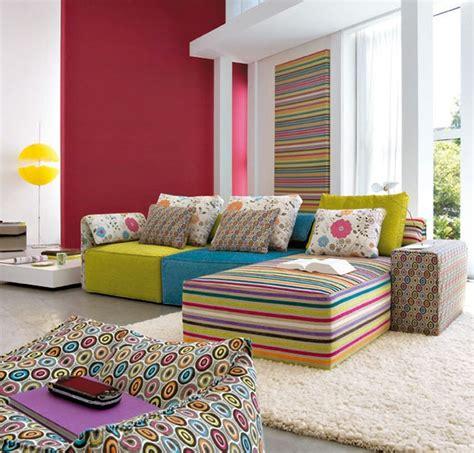 Bunte Wohnzimmermöbel by Modernes Wohnen 58 Wundersch 246 Ne Beispiele