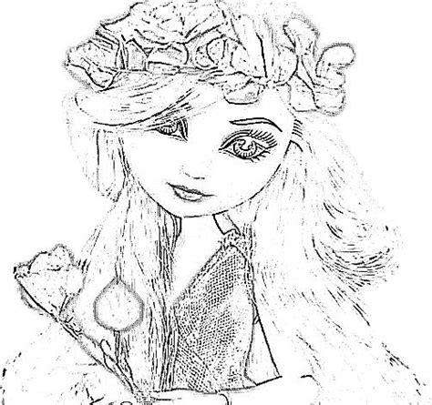 flower crown coloring page coloring flower crown coloring pages