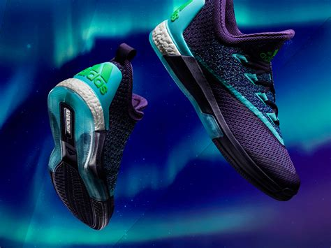 adidas glow wallpaper earth s northern lights get new shine in adidas basketball