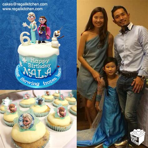 How Do I Design A Kitchen Disney Frozen Cake And Cupcakes