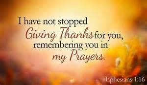 thank you you are precious to me ephesians 1 16 ecard