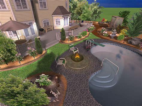 مسابح ديكورات حدائق حمامات سباحة فلل صور خيالية تصاميم
