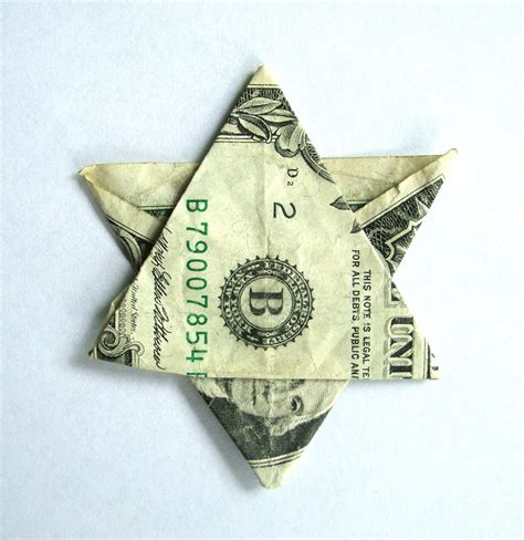 Origami Dollar Bill - origami what not to make bible belt balabusta