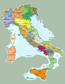 Provinces Of Italy Map by Italy Map And Italy Satellite Images