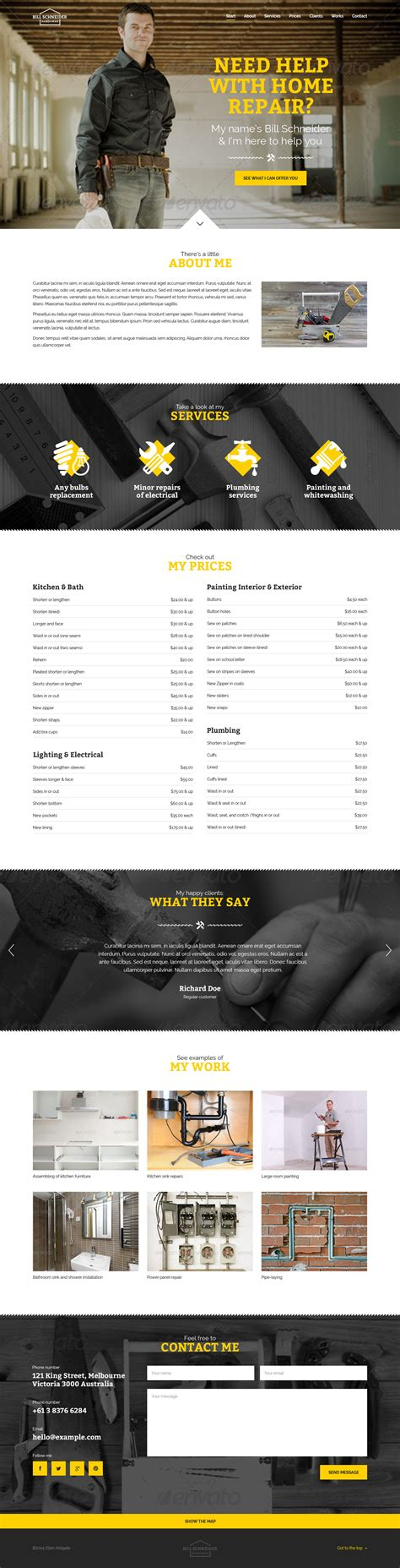 you personal wp template by themeplayers themeforest